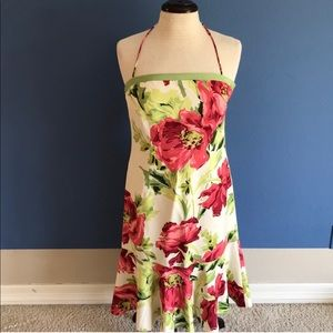 Ann Taylor Silk Floral Dress